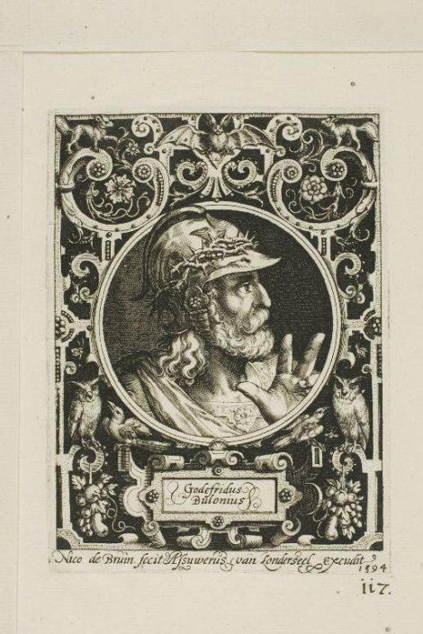 Godefridus Bulonius (1594) - Nicolaes de Bruyn