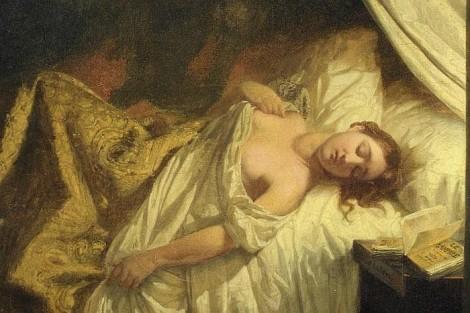 Le Vampire (1825) - Eugène Delacroix